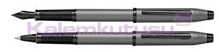 Cross Century II Silah Metali Gri/Siyah PVD Dolma Kalem + Roller Kalem<br><img src=resim/isyaz.gif border=0/>