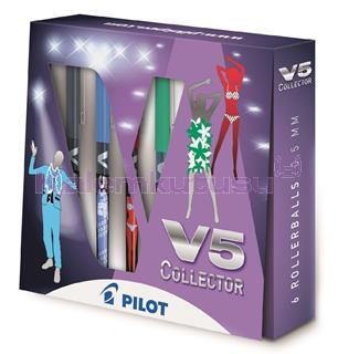 Pilot Roller Kalem V5 Collector 6 Li Hediye Seti