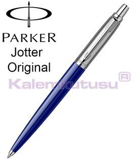 PARKER JOTTER MAVİ-ÇELİK(SS) TÜKENMEZ KALEM<br>