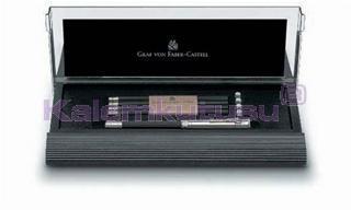 Graf von Faber-Castell İçi Dolu Masa Seti - siyah/platin