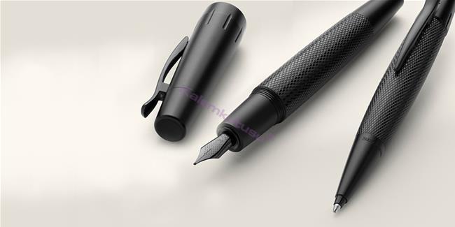 Faber-Castell E-Motion Pure Black Guilloche