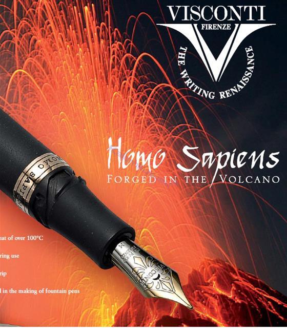 VISCONTI Homo Sapiens Forged in the/Volcano Dolma kalem