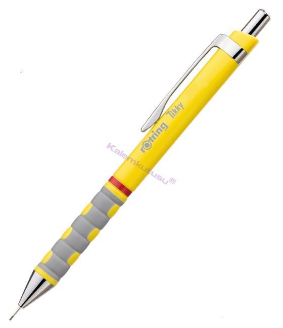 rotring Tikky 0.7mm Mekanik Kurşun kalem - Sarı