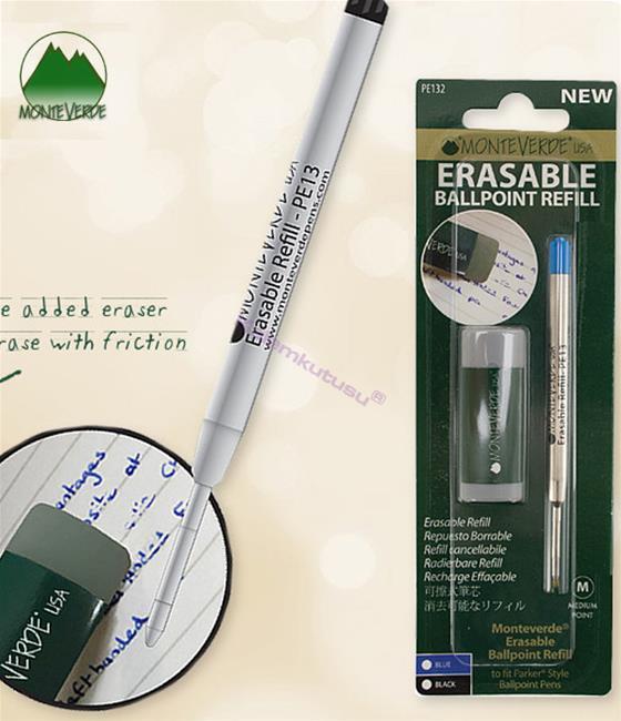 MONTEVERDE U.S.A Parker Tükenmez kalem Silinebilir Yedek - Silgi Hediyeli