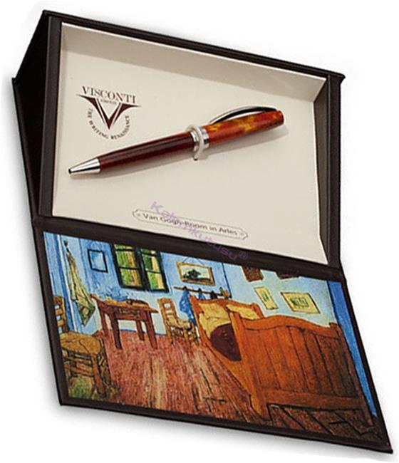 VISCONTI Van Gogh-Bedroom in Arles Vegetal Resin Tükenmez kalem