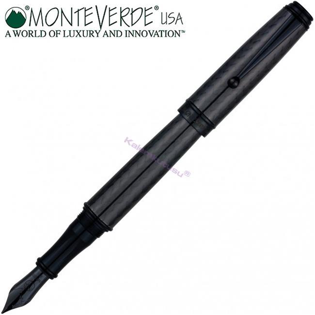Monteverde Invincia Deluxe All Black/Carbon Dolma Kalem