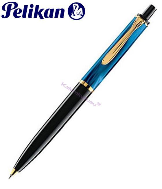 Pelikan K200 Mavi Siyah Tukenmez Kalem