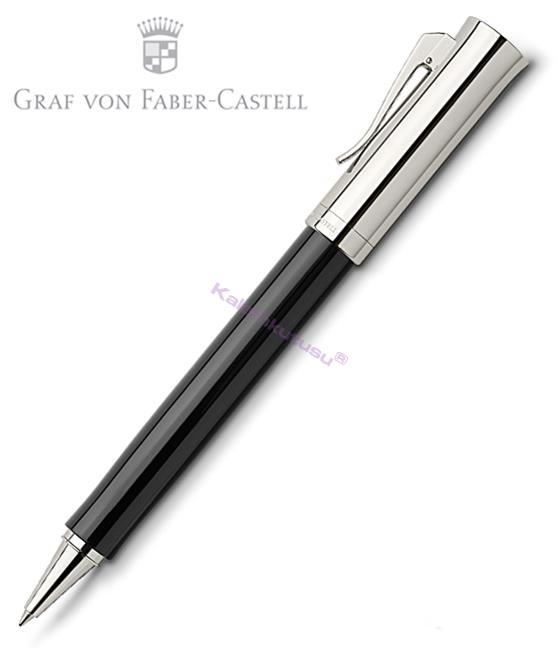 Graf von Faber-Castell Intuition Platin Tek Parça Reçine/Platin El Yapımı Roller kalem
