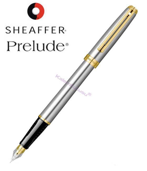SHEAFFER Prelude Buz Krom/Altın Dolma kalem