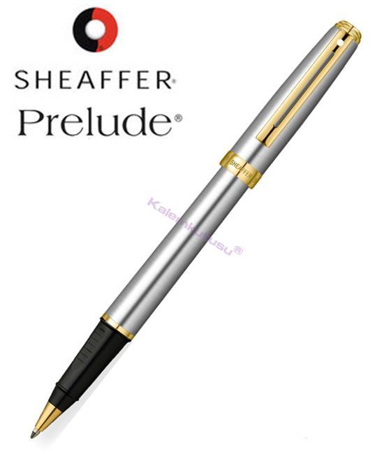 SHEAFFER Prelude Buz Krom/Altın Roller kalem