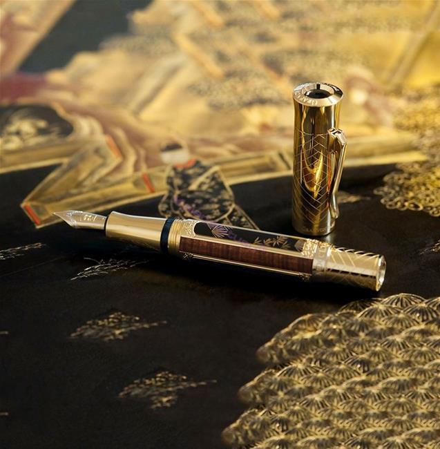 "Graf Von Faber-Castell Pen Of The Year 2016 ""Schloss Schönbrunn Vienna"" Maki-E Altın Dolma Kalem"