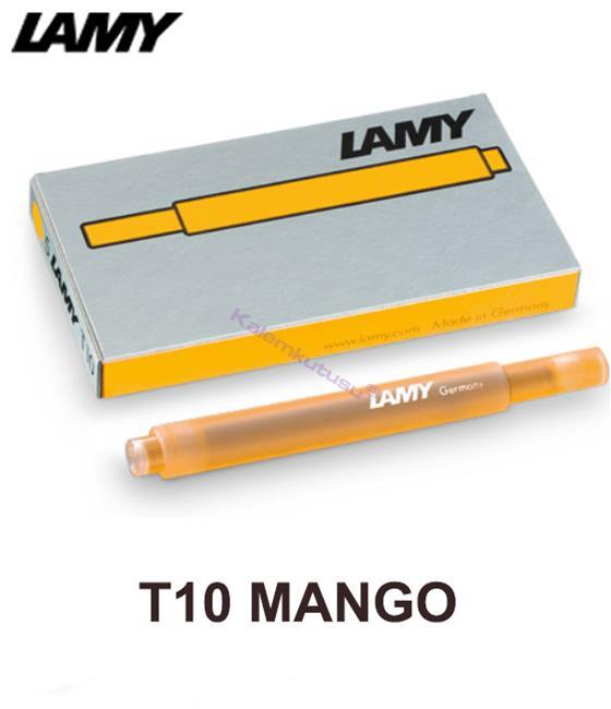 Lamy Dolma kalem için Kartuş T10 Mango