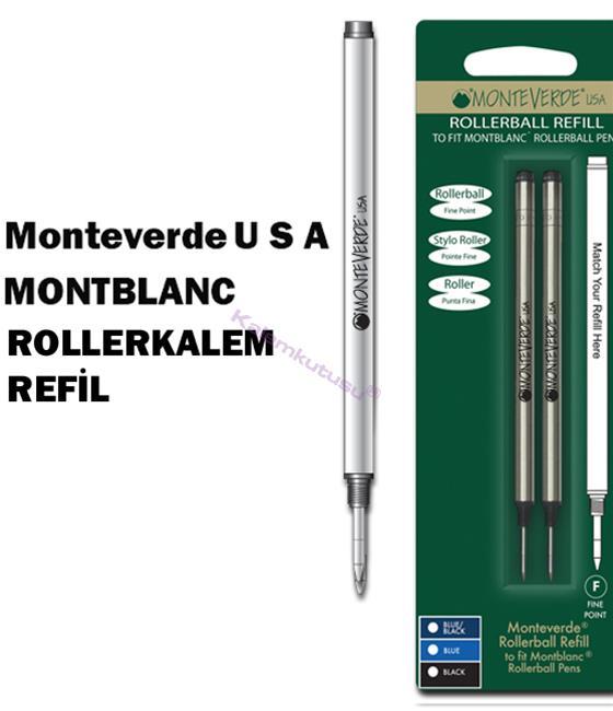 MONTEVERDE U.S.A Montblanc Rollerball Yedek 2