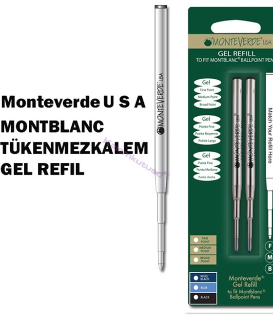 MONTEVERDE U.S.A Montblanc Tükenmezkalem Jel 2