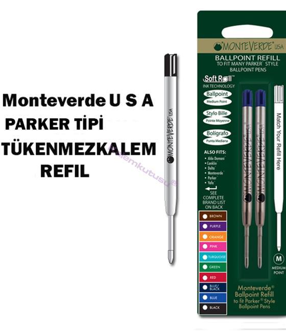 MONTEVERDE U.S.A Parker Tükenmezkalem Yedek 2