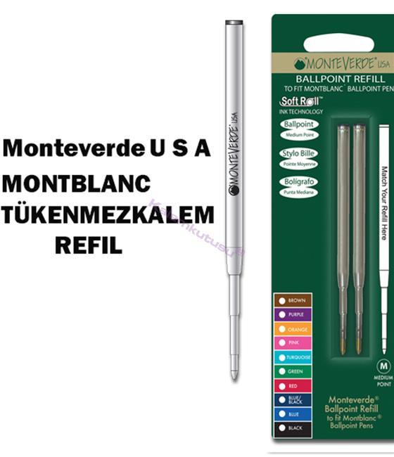 MONTEVERDE U.S.A Montblanc Tükenmezkalem Yedek 2