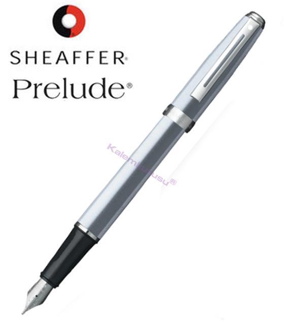 SHEAFFER Prelude Buz Krom/Nikel Dolma kalem