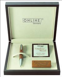 ONLINE TimeLess Wood Kauri Ağacı/Rodyum Tükenmez kalem