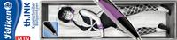 Pelikan th.ink Siyah/Eflatun Gövde Tükenmez Kalem
