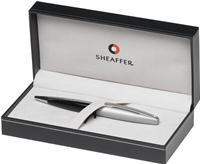 SHEAFFER Taranis™ Sleek Chrome Parlak Lake Siyah/Saten Buz Krom Tükenmez Kalem<br>