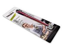 TROIKA Design Fırça ve Silikon Stylus Kırmızı Mıknatıslı Gövde 157x12x12mm