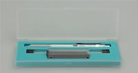 TWSBI Precision FixPipe Black Sabit Uçlu Metal Gövdeli Mekanik Kurşun Kalem - 0.5mm<br><img src=resim/isyaz.gif border=0/>