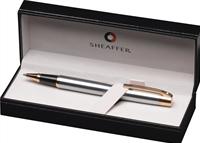 SHEAFFER 300 Parlak Lake Krom/Altın Tükenmez kalem<br>