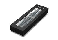 Scrikss Prestige 108 Tükenmez Kalem + 0.7mm M.Kurşun Kalem Takım - Metalik Gri<br><img src=resim/isyaz.gif border=0/>