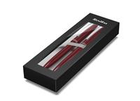 Scrikss Prestige 108 Tükenmez Kalem + 0.7mm M.Kurşun Kalem Takım - Metalik Kırmızı<br>