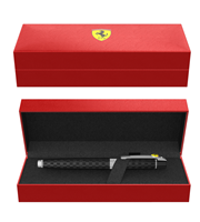 Ferrari By Sheaffer 300 Siyah Damalı Bayrak Gravürlü Dolma Kalem - Siyah