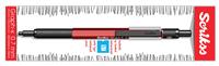 Scrikss Graph-X 0.7mm Mekanik Kurşun Kalem - Metalik Kırmızı<br>